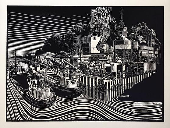 James Dodds -JJ Prior Sand Barges, Fingringhoe
