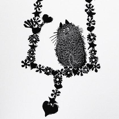 Alison Read - Fragonards Cat
