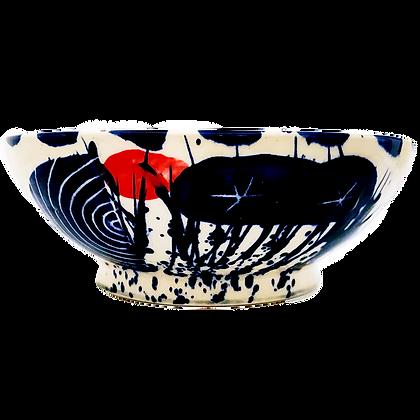 Simon Sharp Pottery - Abstract Design Bowl