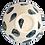 Thumbnail: Pru Green Pottery - Bowl Shell and Mollusc Pattern - Medium