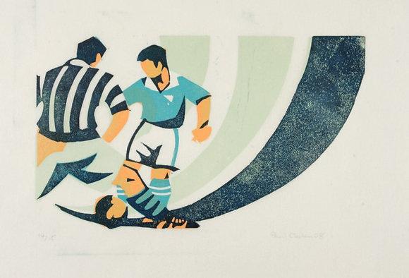 Paul Cleden Footballers (Blue)