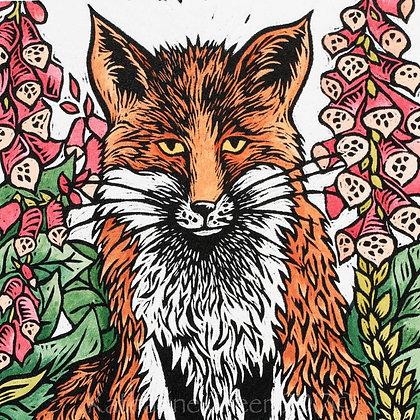 Katharine Green - Fox Amongst The Foxgloves