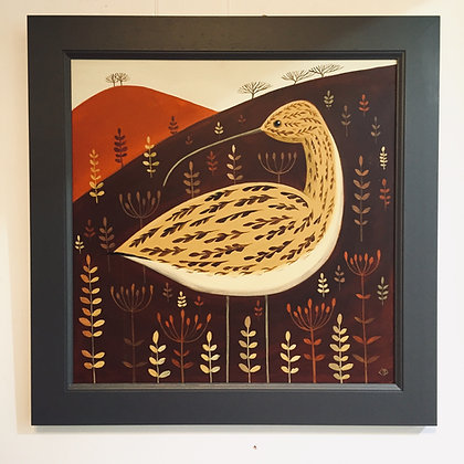 Catriona Hall - Meadow Curlew - Original Painting