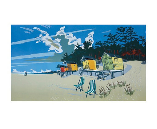Wells Next-The -Sea - Beach by Colin Moore - Fine Art Single Card