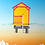 Thumbnail: Yellow and Pink Beach Hut - Michael Papworth