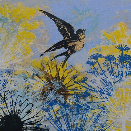 One Still Moment - Claire Cockayne - Fine Art Greetings Card
