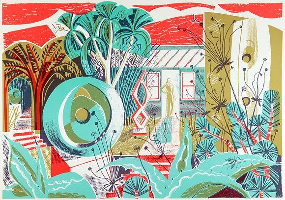 """Clare Curtis """"Barbara's' Garden"""""""