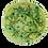 Thumbnail: Pru Green - Very Large Bowl Bottlebrush Flower Design