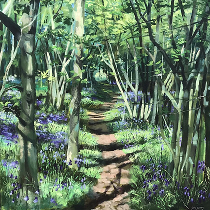 Geri Jones - Woodland Path