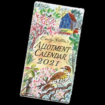 Emily Sutton 2021 Calendar - Allotment Calendar - In Stock