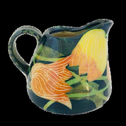 Pru Green - Small Can Jug - Tulip Design