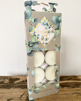 Eucalyptus scented tealights