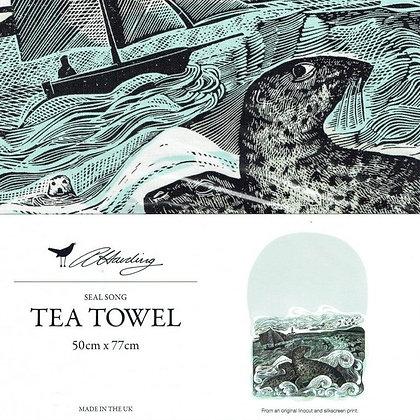 Angela Harding - Seal Song - Printed Tea Towel