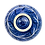 Thumbnail: Pru Green Pottery - Bowl Blue and White Floral Design