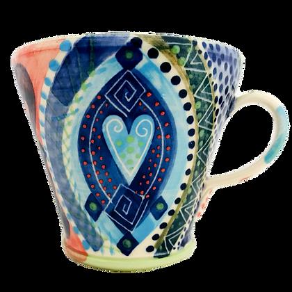 Pru Green Ceramics - Mug - Bright and Colourful