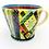 Thumbnail: Pru Green Pottery - Large Bright Multi Coloured Mug
