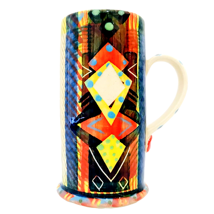 Pru Green- Espresso Cup - Colourful Pottery - Handmade Ceramics