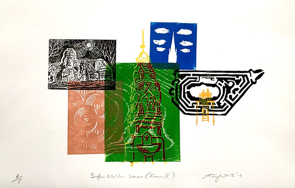 Tony White - Saffron Walden Scenes (Icons-V)