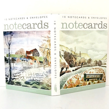 Notecards - Eric Ravilious and Edward Bawden x 10