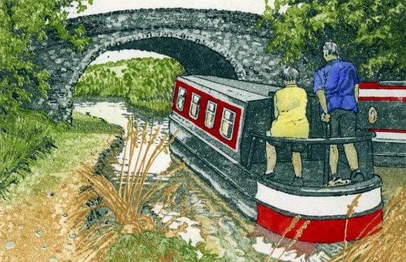 Jan Dingle - Lazy Days - Narrow Boat,Canal
