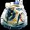 Thumbnail: Pru Green Pottery - Small Jug Shell and Fish Design