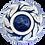 Thumbnail: Pru Green - Blue and White Deep Bowl Floral Design