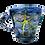 Thumbnail: Pru Green - Blue Mug Mollusc Design II