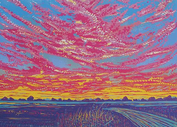 Louise Stebbing - Sunset Burst
