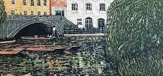 Louise Stebbing - Punting on The Cam