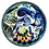Thumbnail: Pru Green -  Small Mollusc and Fish Design Footed Dish