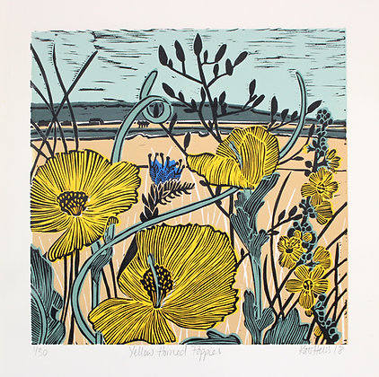 Kate Heiss - Yellow Horned Poppies