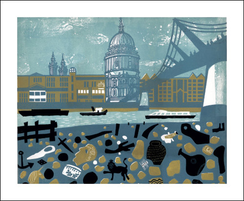 Melvyn Evans -View of St.Pauls - Card by Art Angels