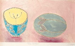 Carmel Campbell - Soft Pink Spring Bowl