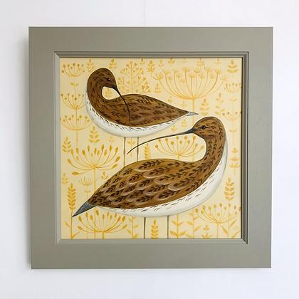 Catriona Hall - Curlews - Original Painting