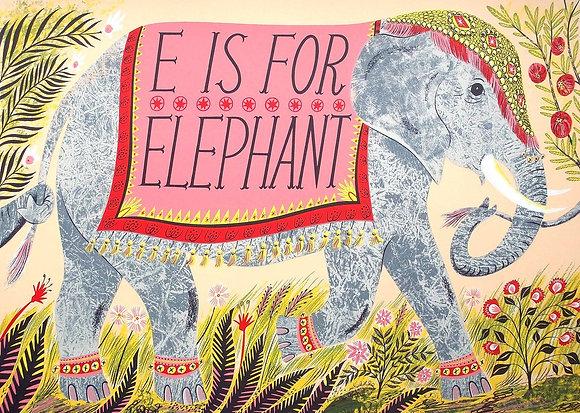 Emily Sutton - E is for Elephant