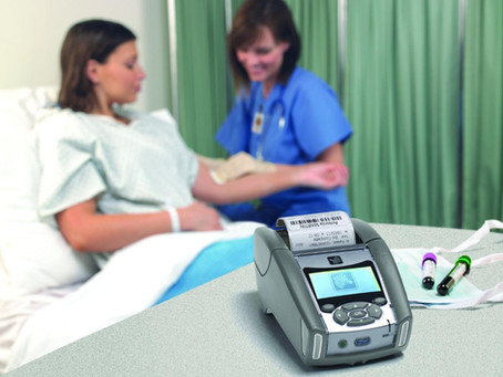 Mobile printing increases patient safety in bedside specimen collection