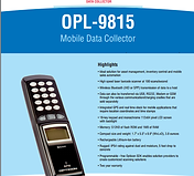 Opticon OPL-9815