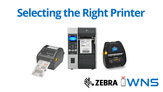 Desktop, Industrial, Mobile Printers