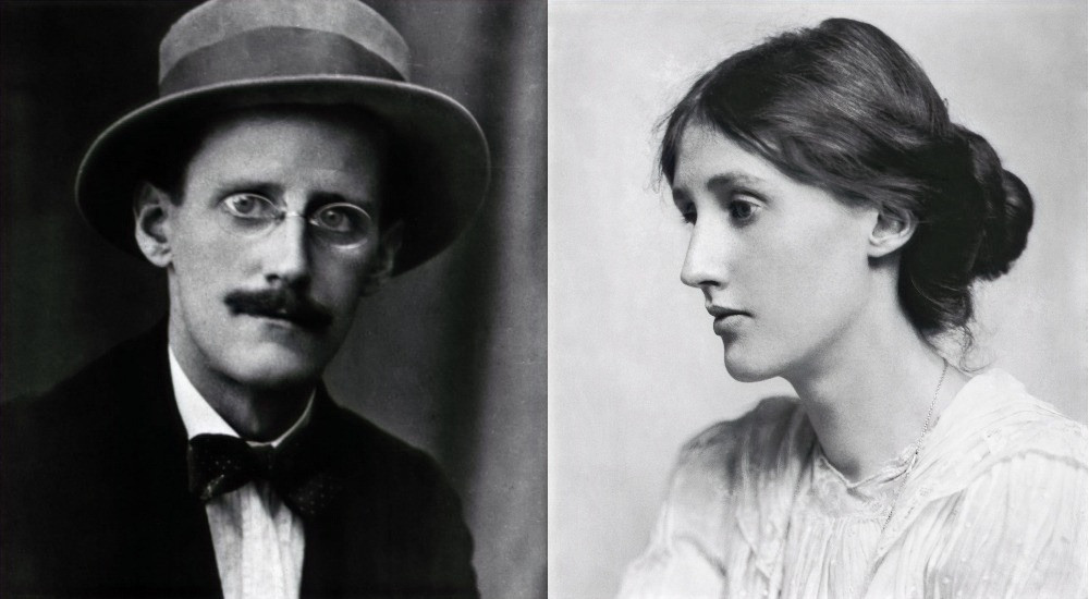 JAMES JOYCE AND VIRGINIA WULF