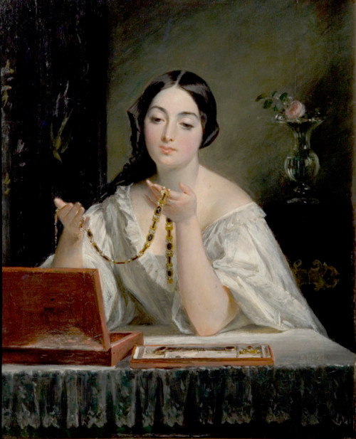 MATHILDE LOISEL WITH THE NECKLACE