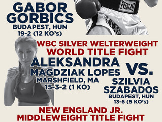 Murphys Boxing Announces Full Fight Card for Saturday July 30th