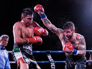 Results from Murphys Boxing's Mayhem in Melrose! Vendetti returns with win over Zavala in action