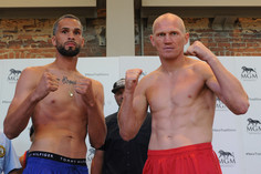 Weights from Springfield for Foster vs. Grachev for NABA Title!