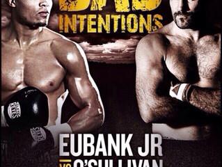 SPIKE O'SULLIVAN (22-1 15KOs) TO FACE CHRIS EUBANK JR (20-1 15KOs) DECEMBER 12TH 2015 AT THE O2 AREN