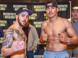 Weights from Melrose for Vendetti vs. Zavala!