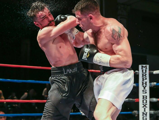 """MURPHYS BOXING SIGNS U.S. MARINE VETERAN AND UNDEFEATED MIDDLEWEIGHT CONTENDER MARK """"BAZOOKA"""" DELUCA"""