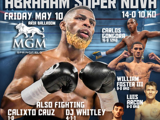 Murphys Boxing and UFC Fight Pass Announce Multi Fight Deal!