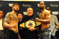 Weights from Boston for Vendetti vs. Anderson for IBA World Title!