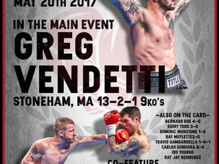 MURPHYS BOXING ANNOUNCES THEIR  RETURN TO MELROSE MEMORIAL HALL, TAKING PLACE ON SATURDAY MAY 20TH