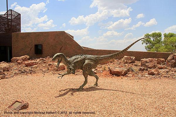 Banjo-Age of Dinosaurs Museum-Winton-w.j